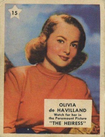 Olivia de Havilland 1951 Nabisco Shredded Wheat