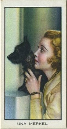 Una Merkel 1935 BAT Cinema Celebrities Movie Card