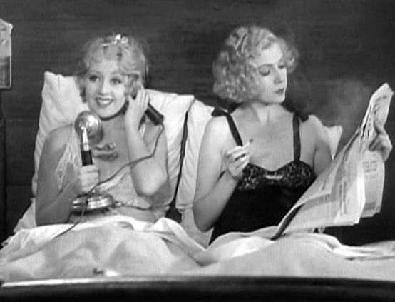 Joan Blondell and Lilyan Tashman