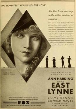 East Lynne ad