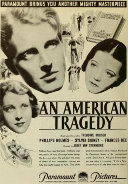 An American Tragedy ad
