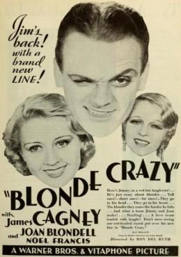 Blonde Crazy ad