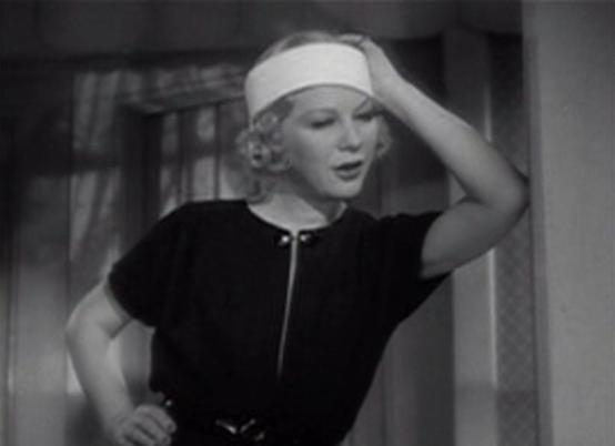 Glenda Farrell in Snowed Under