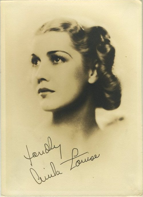 Anita Louise 1930s Fan Photo