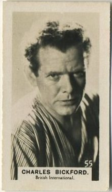 Charles Bickford 1934 Bridgewater Series 3 Trading Card