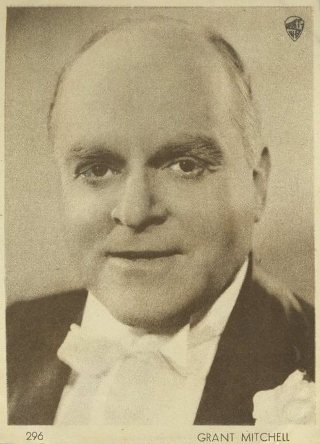 Grant Mitchell 1930s Aguila Trading Card