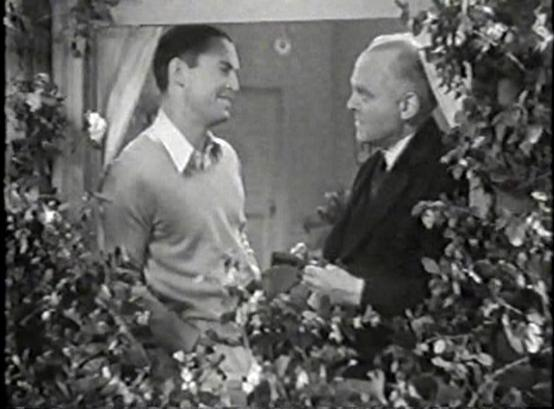 Chester Morris and Grant Mitchell
