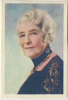 May Robson 1936 Nestles Trading Card