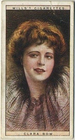 Clara Bow 1928 Wills Cinema Stars