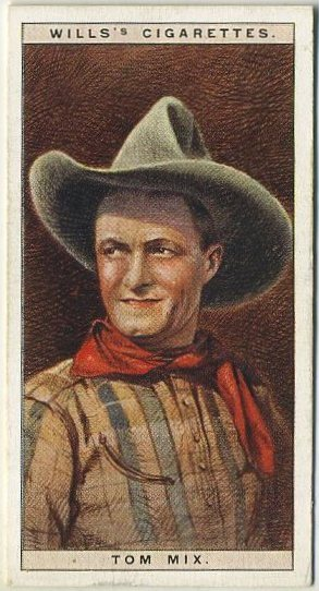 Tom Mix 1928 Wills Cinema Stars