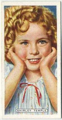 Shirley Temple 1935 Ardath Tobacco Card