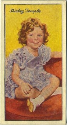 Shirley Temple 1935 Carreras Famous Film Stars