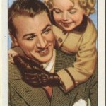 Gary Cooper and Shirley Temple Gallaher Tobacco Card