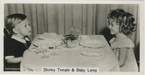 Baby Leroy and Shirley Temple 1937 John Sinclair
