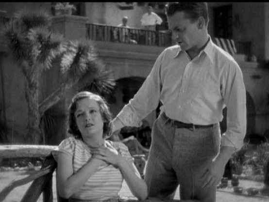 Marian Nixon and James Cagney
