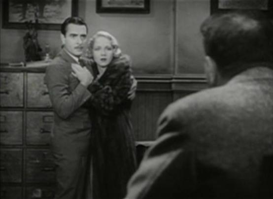 John Gilbert and Leila Hyams