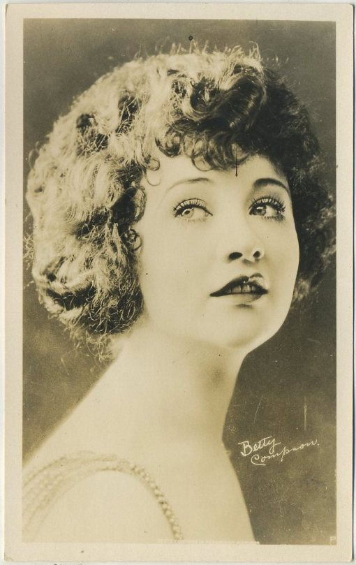 Betty Compson 1920s Era Real Photo Postcard