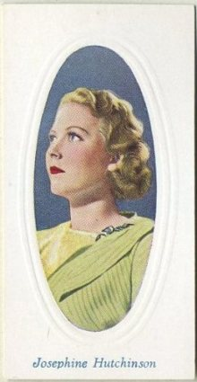 Josephine Hutchinson 1936 Godfrey Phillips Screen Stars
