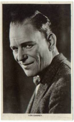 Lon Chaney Real Photo Postcard