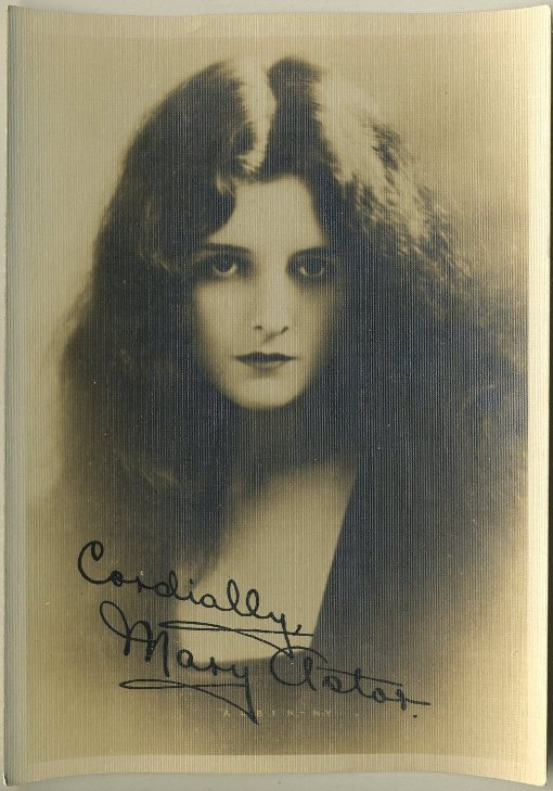 Mary Astor 1920s 5x7 Fan Photo