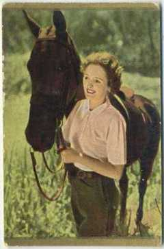 Mary Astor 1930s Danmarks Trading Card