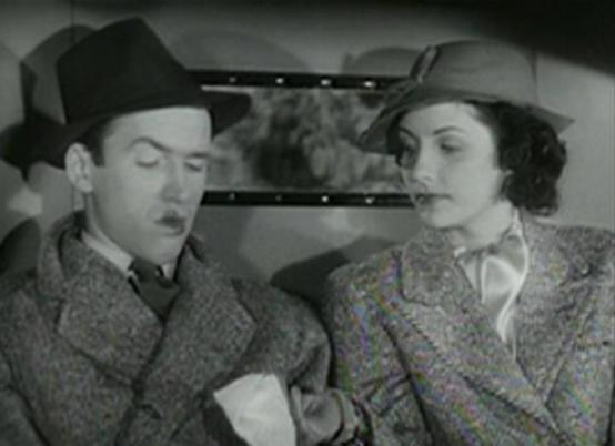 James Stewart and Frances Mercer