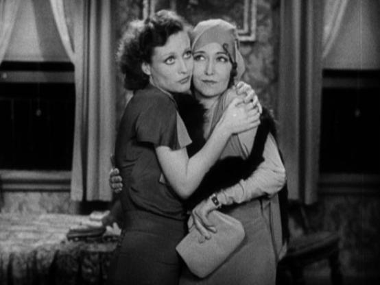 Joan Crawford and Dorothy Sebastian