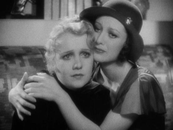 Anita Page and Joan Crawford
