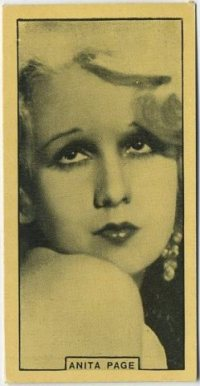 Anita Page 1932 BAT Cinema Artistes Tobacco Card