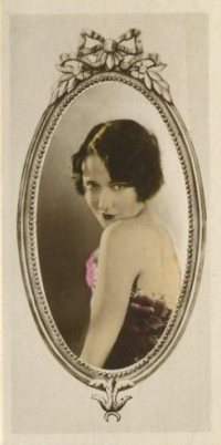 Dorothy Sebastian 1934 Godfrey Phillips Stars of the Screen Tobacco Card