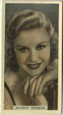 Ginger Rogers 1936 Hill Tobacco Card