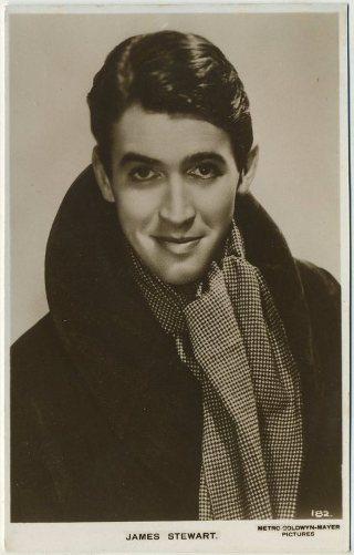 James Stewart 1930s Postcard