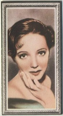 Jessie Matthews 1936 Godfrey Phillips Stars of the Screen Tobacco Card