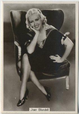 Joan Blondell BAT Modern Beauties Tobacco Card