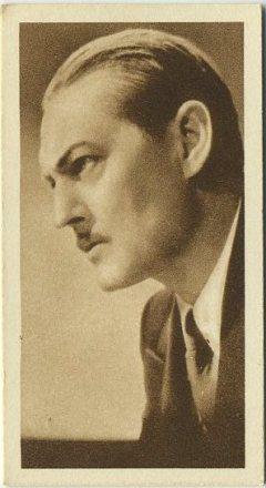 Lionel Barrymore 1933 Sarony Cinema Stars Tobacco Card