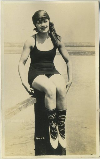 Marie Prevost Mack Sennett Bathing Beauty Postcard