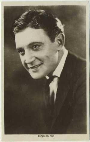Richard Dix 1930s Postcard