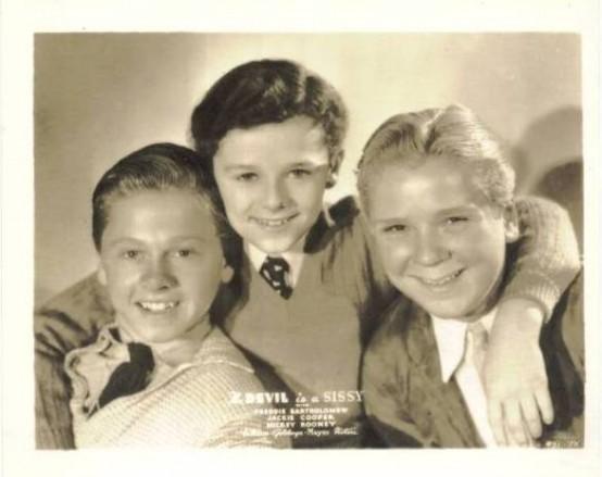 Mickey Rooney, Freddie Bartholomew and Jackie Cooper