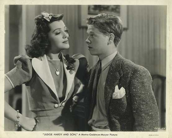 Ann Rutherford and Mickey Rooney Still Photo