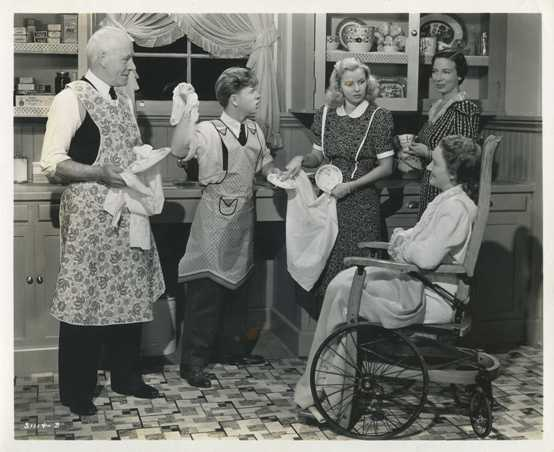 Mickey Rooney and the Hardy Family