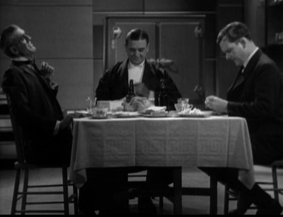 Boris Karloff, Richard Dix and Paul Hurst