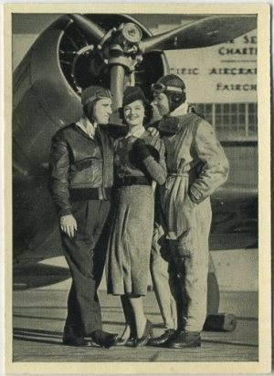 Test Pilot tobacco card from A and Wix in 1940