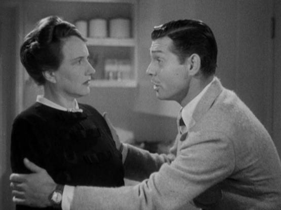 Marjorie Main and Clark Gable