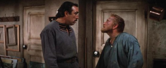 Anthony Quinn and Kirk Douglas