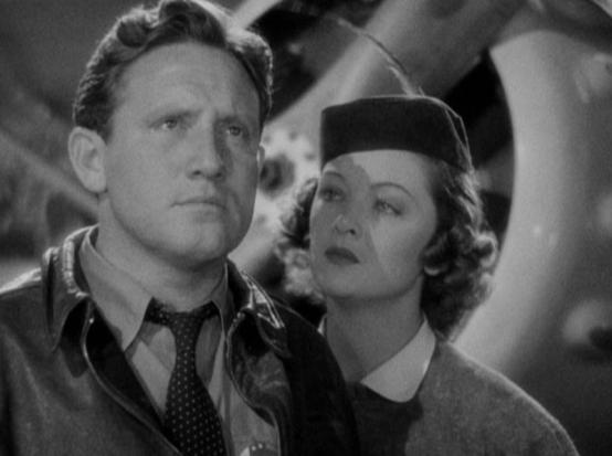 Spencer Tracy and Myrna Loy