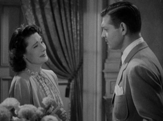Gloria Holden and Clark Gable