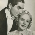 Tyrone Power and Alice Faye Still Photo