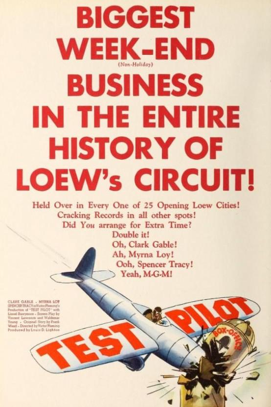 Test Pilot trade ad