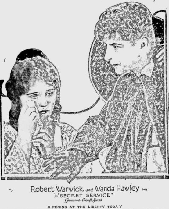 Wanda Hawley and Robert Warwick