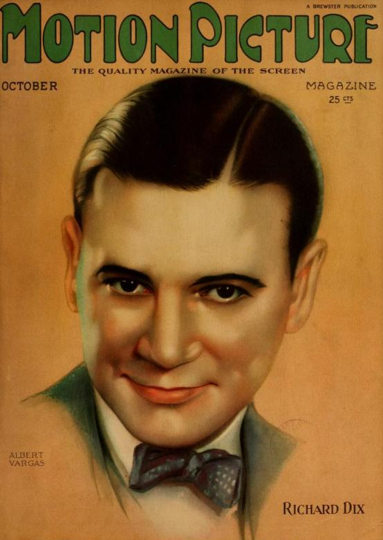 Richard Dix Motion Picture Classic October 1924